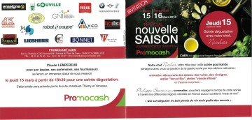 Invitation Promocash